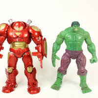 Marvel Select Hulkbuster Iron Man Diamond Select Toys Comic Action Figure Review