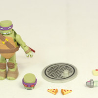 TMNT Minimates Series 2 Diamond Teenage Mutant Nina Turtles Cartoon 2 Inch Action Figure Blind Bag Review