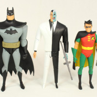 DC Collectibles Two-Face The New Adventures of Batman Toy Cartoon Action Figure Review