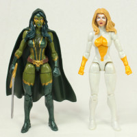 Marvel Legends Gamora Guardians of the Galaxy 5 Pack Set Toy Action Figure Review