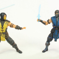 Mezco Scorpion Mortal Kombat X Video Game 6 Inch MezcoToyz Action Figure Review