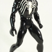 Secret Wars Spider Man Black Suit Jumbo 12 Inch Retro Gentle Giant Toy Action Figure Review