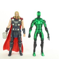 SH Figuarts Thor Marvel's Avengers Age of Ultron Bandai Tamashii Nations Movie Figure Review