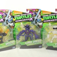 TMNT Lord Dregg Mozar and Fugitoid Teenage Mutant Ninja Turtles Nickelodeon Cartoon Toy Review