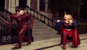 Flash-Supergirl-Art