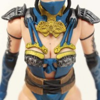 Mortal Kombat X Kitana Mezco Toyz 6 Inch Video Game Action Figure Review