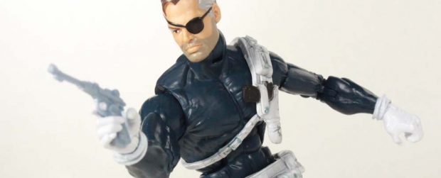 Marvel Legends Nick Fury Captain America Civil War Giant Man BAF Toy Action Figure Review