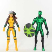 Marvel Legends Rogue Jim Lee Style Juggernaut BAF 2016 X Men Wave Toy Action Figure Review
