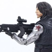 Marvel Select Winter Soldier Captain America Civil War Movie Toy Action Figure Review