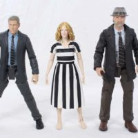 Gotham Series 3 Bruce Wayne, Barbara Kean, and Victor Zsasz Diamond Select Toys TV Figure Review