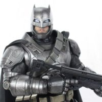 Hot Toys Armored Batman v Superman Dawn of Justice 1:6 Scale Movie Collectible Figure Review
