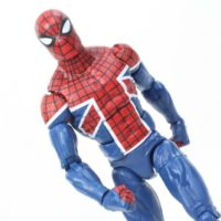 Marvel Legends Spider UK Sandman BAF Wave 2016 Spider Man Comic Action Figure Toy Review