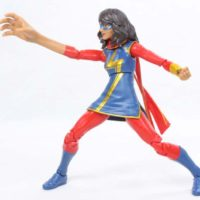 Marvel Legends Ms Marvel (Kamala Khan) Sandman BAF 2016 Spider-Man Wave Action Figure Toy Review