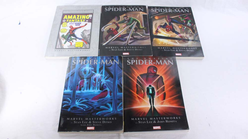 Marvel Masterworks The Amazing Spider-Man TPB Vol. 1-5 (Various Editions)
