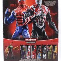 Marvel Legends Spider-Man 2099 Sandman BAF 2016 Wave Comic Action Figure Toy Review