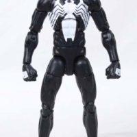 Marvel Legends Black Suit Spider-Man 2016 Sandman BAF Wave Comic Action Figure Toy Review