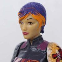 Star Wars Black Series Sabine Wren 6 Inch Rebels Cartoon Show Action Figure Toy Review