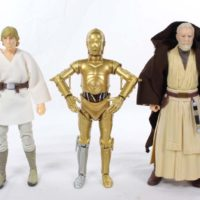 Star Wars C-03PO Black Series 6 Inch A New Hope Episode IV Original Movie Action Figure Toy Review