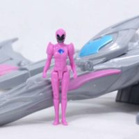 Power Rangers 2017 Pterodactyl Battle Zord with Pink Ranger Movie Bandai Action Figure Toy Review