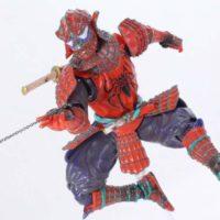 SH Figuarts Samurai Spider-Man Marvel Manga Realization Bandai Tamashii Nations Action Figure Review