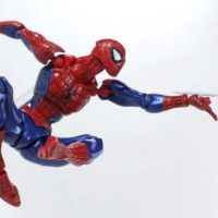 Revoltech Spider Man 2016 Amazing Yamaguchi Marvel Comics Import Action Figure Toy Review