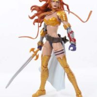 Marvel Legends Angela Guardians of the Galaxy Vol  2 Titus BAF Wave Action Figure Toy Review