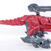 Power Rangers 2017 Megazord and T Rex Battlezord Movie Toy Review