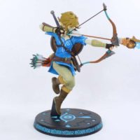 Legend of Zelda Breath of the Wild Link First4Figures 10 Inch Nintendo Video Game Statue Review