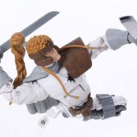 Marvel Legends Shatterstar X-Men Warlock BAF Wave X-Force Comic Action Figure Toy Review