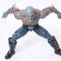Marvel Legends Drax Guardians of the Galaxy Vol. 2 Movie Titus BAF Wave Action Figure Toy Review