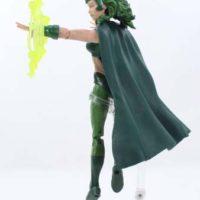 Marvel Legends Polaris X-Men Warlock BAF Wave Marvel Comics Action Figure Toy Review