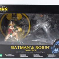 Kotobukiya Batman and Robin ArtFX+ Jim Lee and Frank Miller All Star DC Comics 2 Pack Statue Review