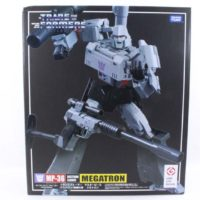 Transformers Masterpiece Megatron MP-36 Takara Tomy Destron Leader Import Action Figure Toy Review