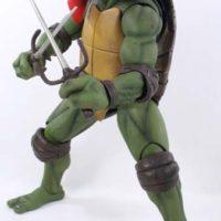 NECA TMNT Raphael 1:4 Scale 1990 Movie Teenage Mutant Ninja Turtles Action Figure Toy Review