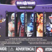 Marvel Legends Titus BAF Guardians of the Galaxy Vol 2 Wave Build A Figure Toy Review