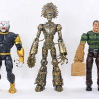 Marvel Legends Warlock BAF 2017 X-Men Build A Figure New Mutants Comic Toy Review
