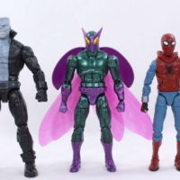 Marvel Legends Beetle 2017 Spider Man Homecoming Vulture BAF Wave Comic Action Figure Toy Review