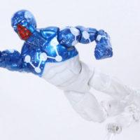 Marvel Legends Cosmic Spider-Man Captain Universe Homecoming Vulture BAF Action Figure Toy Review