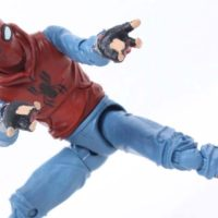 Marvel Legends Homemade Suit Spider-Man Homecoming Movie Vulture BAF Action Figure Toy Review