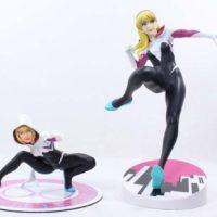 Kotobukiya Spider Gwen ArtFX+ Marvel NOW Spider Man Comic Statue Review