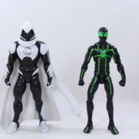 Marvel Legends Moon Knight 2017 Spider-Man Homecoming Vulture BAF Action Figure Toy Review