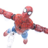 Marvel Legends Spider Man Tech Suit Web Wing Homecoming Movie Vulture BAF Wave Figure Toy Review