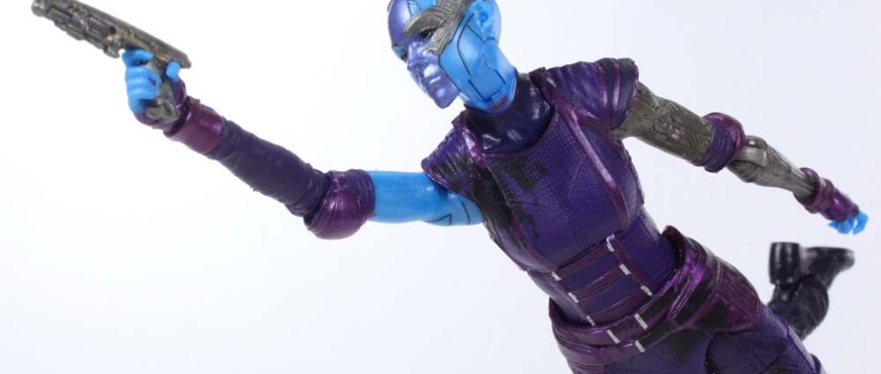 Marvel Legends Nebula Guardians of the Galaxy Vol  2 Mantis BAF Movie Action Figure Toy Review