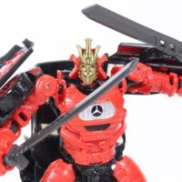 Transformers Drift The Last Knight Deluxe Class Movie Action Figure Toy Review