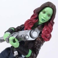 Marvel Legends Gamora Mantis BAF Guardians of the Galaxy Vol 2 Wave Action Figure Toy Review