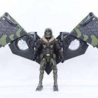 Marvel Legends Vulture BAF Spider-Man Homecoming Movie Michael Keaton Action Figure Toy Review