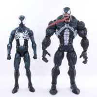 Marvel Legends Spider-Man Black Suit 12 Inch 1:6 Scale Hasbro Target Exclusive Figure Toy Review