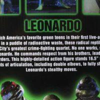 NECA TMNT Leonardo 1:4 Scale 1990 Movie Teenage Mutant Ninja Turtles Action Figure Toy Review
