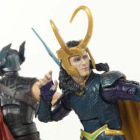 Marvel Legends Loki Thor Ragnarok Gladiator Hulk BAF Wave Movie Hasbro Action Figure Toy Review