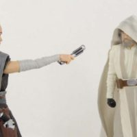 Star Wars Luke and Rey SDCC 2017 Exclusive 2-Pack 6 Inch Black Series Movie Action Figure Toy Review